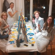 CCW Cheers to Art painting Fun